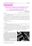 Một số kết quả nghiên cứu về nghề khai thác cá thu bằng câu vàng huyện Kiên Hải, tỉnh Kiên Giang