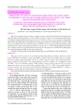 Khảo sát các yếu tố ảnh hưởng đến phản ứng thủy phân cơ thịt đỏ cá ngừ sọc dưa (Sarda orientalis) với xúc tác NaOH nhằm thu dịch protein thủy phân