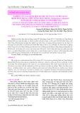 Nghiên cứu xác định một số yếu tố nguy cơ liên quan bệnh đốm trắng trên tôm chân trắng (Litopenaeus vannamei) nuôi thâm canh tại một số tỉnh miền Bắc