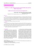 Nghiên cứu nhiệt phân bao bì chất dẻo phế thải thành nhiên liệu lỏng