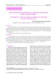 Hoạt tính chống oxy hóa của chitosan thủy phân bằng acid sulfuric