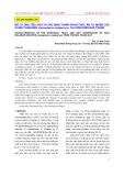 Mô tả ống tiêu hóa và xác định thành phần thức ăn tự nhiên của cá mú chấm đen, epinephelus malabaricus tại vùng biển Nha Trang