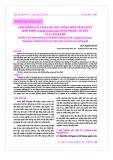 Ảnh hưởng của mật độ thả giống đến năng suất sinh khối Artemia franciscana nuôi trong ao đất tại Cam Ranh
