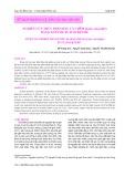 Nghiên cứu thủy phân đầu cá chẽm (Lates calcarifer) bằng enzyme Flavourzyme