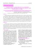 Ảnh hưởng thức ăn, khẩu phần ăn của cá chuối hoa (Channa maculata Lacepède, 1801) bố mẹ lên khả năng sinh sản, chất lượng trứng và cá bột