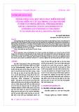 Thành phần loài, mật độ và đặc điểm phân bố của Sao biển và Cầu gai trong các rạn san hô ở vịnh Vân Phong - Bến Gỏi, tỉnh Khánh Hòa