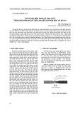 Tập trung biến dạng và ứng suất trong mối hàn ma sát giữa hai siêu hợp KIM M247 và INC718