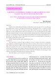 Lạm phát và tình trạng nghèo của hộ gia đình ngư dân tại khu vực duyên hải Nam Trung bộ