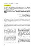 Ảnh hưởng của các loại thức ăn đến sinh trưởng và tỷ lệ sống của tôm rằn (Penaeus semisulcatus De Haan, 1850) nuôi thương phẩm ở Phú Vang, Thừa Thiên Huế