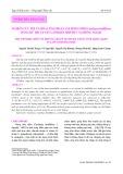 Nghiên cứu tối ưu hóa công đoạn sấy rong nho (Caulerpa lentillifera) bằng kỹ thuật sấy lạnh kết hợp bức xạ hồng ngoại