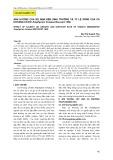 Ảnh hưởng của độ mặn đến sinh trưởng và tỷ lệ sống của cá Khoang Cổ Đỏ Amphiprion frenatus Brevoort 1856
