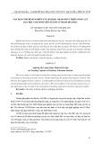 Vận dụng mô hình nghiên cứu bài học nhằm phát triển năng lực dạy học cho sinh viên ngành Sư phạm Hóa học