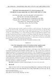 Thử khả năng đối kháng của nấm Trichoderma với nấm bệnh Sclerotium Rolfsii hại lạc trong điều kiện in vitro