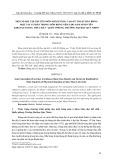 Một số bài tập chuyên môn nhằm nâng cao kỹ thuật dẫn bóng một tay cơ bản trong môn bóng ném cho nam sinh viên Khoa Giáo dục Thể chất - Quốc phòng, Trường Đại học Quy Nhơn