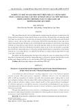 Nghiên cứu một số giải pháp phát triển thể lực chung nhằm nâng cao kết quả học tập thực hành kỹ thuật các môn thể thao trong chương trình đào tạo của Khoa GDTC-QP Trường Đại học Quy Nhơn