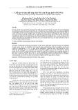 Chế tạo và tính chất nhạy khí NH3 của tổ hợp nano rGO/WO3