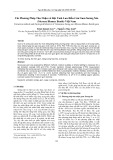 Các phương pháp thu nhận và đặc tính lưu biến của gum sương sáo (mesona blumes benth) Việt Nam