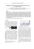 Establish experimental system of sheet metal hydrostatic forming for stepped cylinder