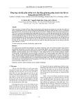 Tổng hợp vật liệu gốm nhôm oxit xốp bằng phương pháp luyện kim bột sử dụng phụ gia thiêu kết TiO2