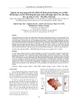 Nghiên cứu ứng dụng mô hình MIKE để đánh giá ảnh hưởng của sự biến đổi khí hậu và nước biển dâng đến quá trình xâm nhập mặn ở các cửa sông lưu vực sông Vu Gia - Thu Bồn, Việt nam
