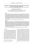 Ảnh hưởng của chế độ cắt đến các đặc tính của phoi và lực cắt khi phay cao tốc hợp kim nhôm A6061
