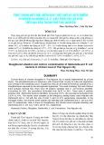 Thực trạng giết mổ, kiểm soát giết mổ và sự ô nhiễm vi khuẩn Salmonella, E. Coli trên thịt gà bán trên đại bàn thành phố Thái Nguyên