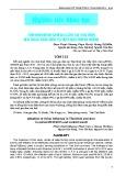 Tình hình bệnh cúm gia cầm tại Thái Bình giai đoạn 2010-2015 và hiệu quả phòng chống