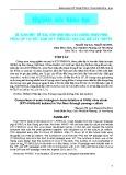So sánh một số đặc tính sinh học của chủng virus PRRS phân lập tại Việt Nam (KTY-PRRS-04) qua các đời cấy truyền
