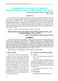 Xác định hiệu lực vacxin dịch tả vịt nhược độc bằng liều bảo hộ 50% (PD50) và tương quan giữa TCID50 và PD50