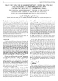 Nhận thức của phụ huynh đối với nguy cơ xâm hại tình dục trẻ em (nghiên cứu nhóm phụ huynh lớp 5 trường tiểu học Nguyễn Văn Trỗi, Đà Nẵng)
