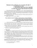 Đánh giá an toàn và hiệu lực của vacxin nhược độc đậu dê trong điều kiện sản xuất