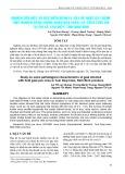 Nghiên cứu một số đặc điểm bệnh lý của dê được gây bệnh thực nghiệm bằng chủng virus đậu phân lập trên thực địa tại thị xã Tam Hiệp, tỉnh Ninh Bình