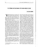 Tư tưởng Hồ Chí Minh về phản biện xã hội