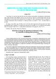 Nghiên cứu lựa chọn thuốc điều trị bệnh sán dây chó ở 3 huyện tỉnh Quảng Ninh