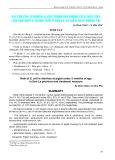 Vai trò của vi khuẩn E. Coli trong hội chứng tiêu chảy của lợn con dưới 2 tháng tuổi ở Sơn La và biện pháp phòng trị