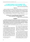 Tỷ lệ nhiễm vi khuẩn E. coli và Salmonella trên thịt gia cầm sau khi giết mổ tại huyện Hữu Lũng - Lạng Sơn