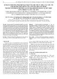 Sử dụng phương pháp bề mặt đáp ứng để tối ưu hóa các yếu tố ảnh hưởng đến phản ứng chuyển hóa sucrose thành 5-Hydroxymethyl-2-Fufuraldehyde bằng sự kết hợp giữa nhiệt và xúc tác HCl