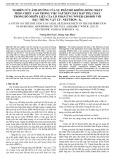 Nghiên cứu ảnh hưởng của sự phân bố không đồng nhất theo chiều cao trong việc sắp xếp chất hấp thụ cháy trong bó nhiên liệu của lò phản ứng WWER-1200 đối với đặc trưng vật lý - Neutron - K∞