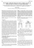 Một số điều chỉnh khi tính toán nội lực trong cọc đối với móng cọc đài cao theo các tài liệu hiện hành