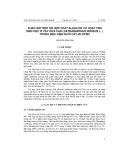 Khảo sát một số hợp chất alkaloid có hoạt tính sinh học ở cấy dừa cạn (Catharanthus roceus L. ) trong điều kiện nuôi cấy in vitro