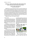 Nghiên cứu, thiết kế hệ thống điều khiển thiết bị điện cho ngôi nhà thông minh bằng smartphone