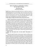 Một cách tiếp cận thơ Hoàng Vũ Thuật (Từ góc nhìn văn hóa)