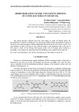 Bioremediation of soil containing dioxins by using bacteria in crude oil