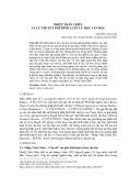 Nhiếp Trân Chiêu và lý thuyết phê bình luân lý học văn học