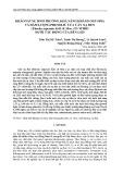 Khảo sát sự sinh trưởng, khả năng kháng oxy hóa và hàm lượng phenolic của cây xạ đen (Ehretia asperula zoll. & mor.) in vitro dưới tác động của đèn led