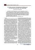 Tư tưởng giáo dục của nhà nho Nguyễn Đức Đạt với việc giáo dục đạo đức cho thanh niên
