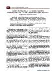 Nghiên cứu thực trạng các yếu tố ảnh hưởng đến động cơ học tập của sinh viên Trường Đại học Hồng Đức