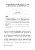 """Phương thức tự sự trong """"bọn làm bạc giả"""" của André Gide và """"thiếu quê hương"""" của Nguyễn Tuân từ góc nhìn cấu trúc luận"""
