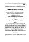 Research on phytochemical and alfa glucosidase inhibitory activity of ethyl acetate fraction of ruellia tuberosa