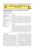 Mối quan hệ giữa khai thác cát với biến động bờ sông Tiền tại tỉnh Đồng Tháp